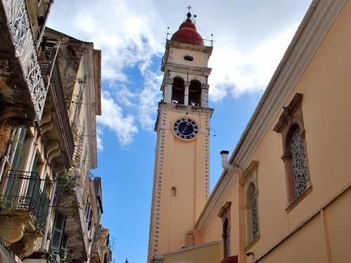 San Espiridión, la iglesia más famosa de Corfú