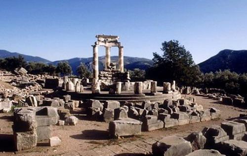 Delfos zona arqueológica