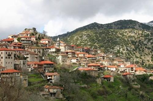 Dimitsana, un sugerente pueblo de la Arcadia
