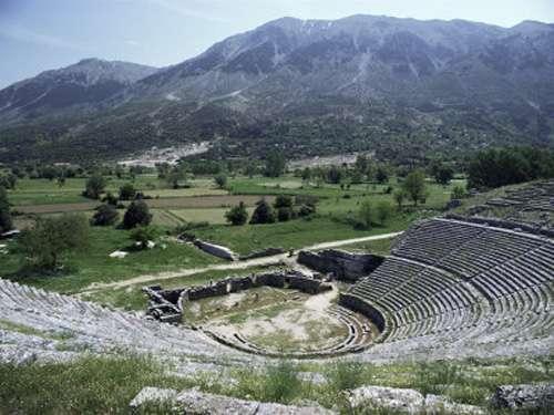 El oráculo de Zeus en Dodóni