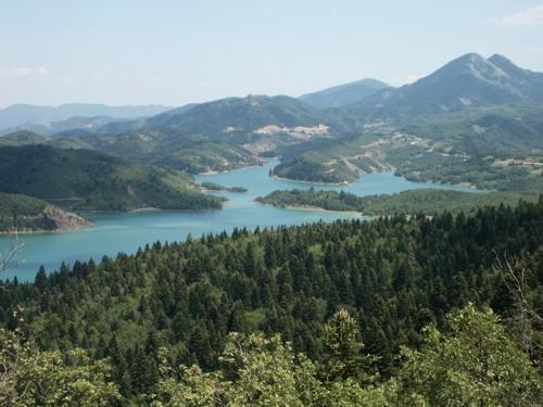 Plastira, gran lago artificial de Grecia