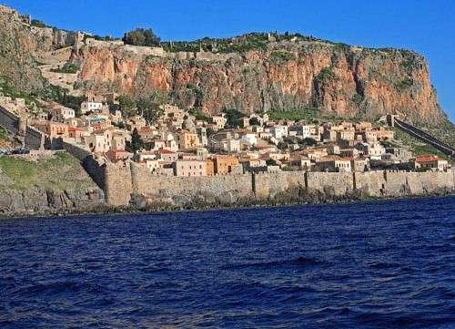 Monemvasía: una impresionante ciudad fortificada