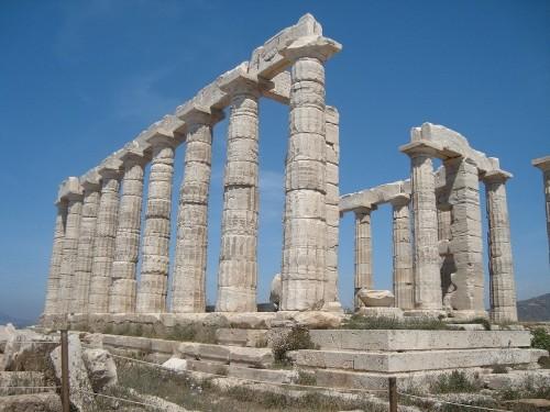 Templo de Poseidon en Cabo Sunio