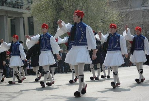Indumentaria tradicional griega
