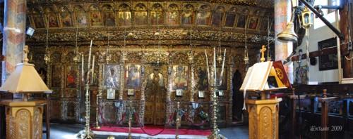 Agia Marina, iglesia y museo en Kissos