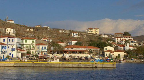 La isla de Agios Efstratios, Egeo norte.