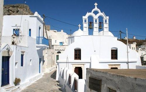 Amorgos, islas Cicladas en Grecia