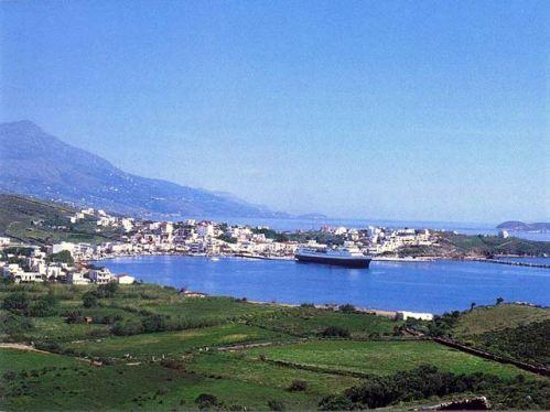 Andros, una isla Cíclada