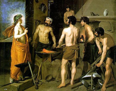 Apolo y Hefesto