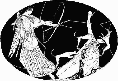 Artemisa y Acteon