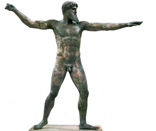 Escultura del Dios del Cabo Artemisio