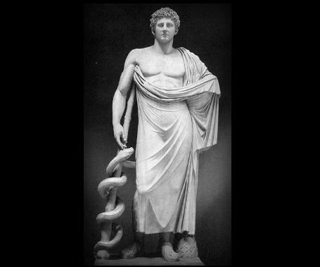 Asclepio, el dios de la medicina
