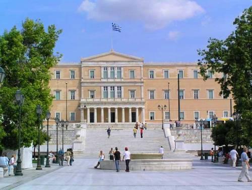 El Parlamento Helenico, en Atenas