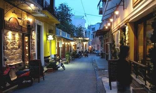Barrio tipico de Atenas