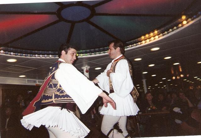 La fiesta de la danza en la vida de Grecia