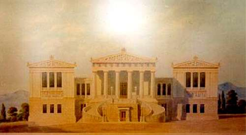 La Biblioteca Nacional de Atenas