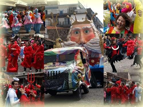 Carnaval en Atenas, fiesta en Grecia