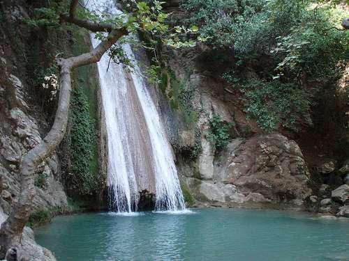 Las cataratas del rio Nedas, en el Peloponeso