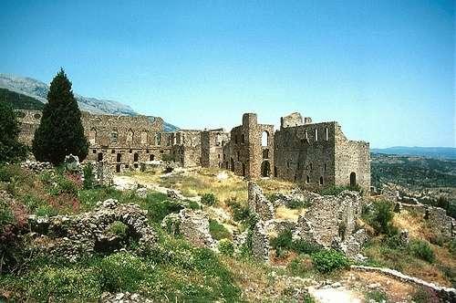 Paseando por la villa medieval de Mistras