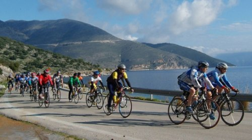 El International Cycling Tour de Cefalonia