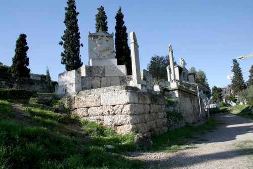 Keramikos, el antiguo cementerio de Atenas