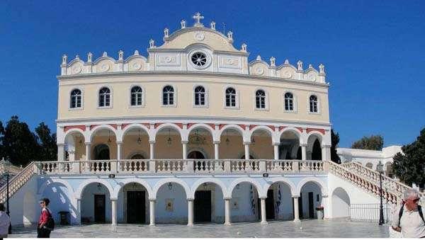 Iglesia de la Virgen, Tinos, C�cladas