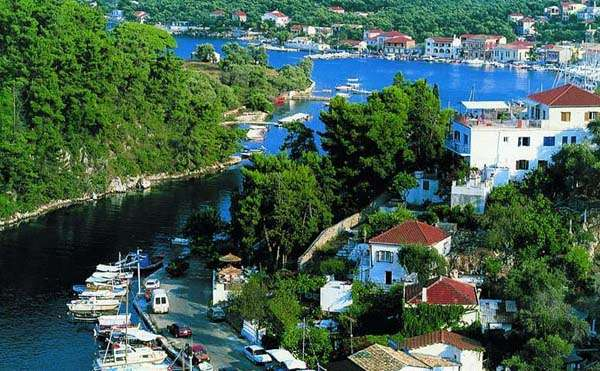 Paxos, mar Jónico, Grecia