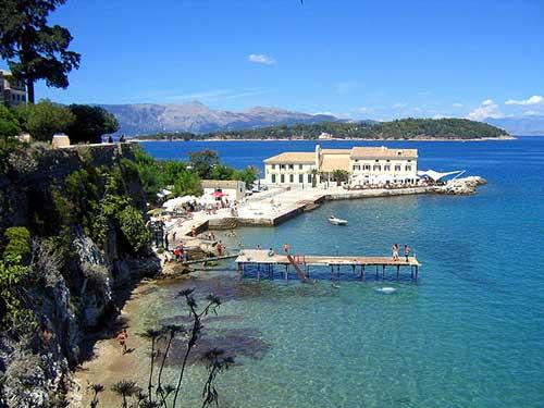 Corfu, una de las islas mas bellas y visitadas del Jonico.