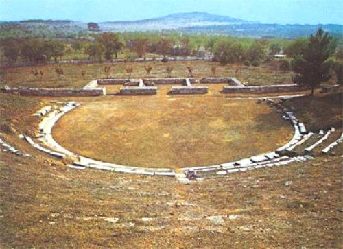Teatro de Demetrias, Tesalia