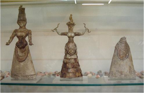 diosas de las serpientes