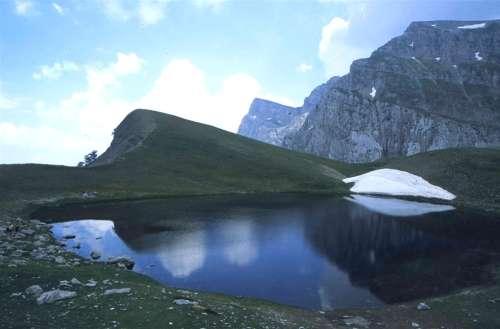 Lago del Dragon en Zagoria
