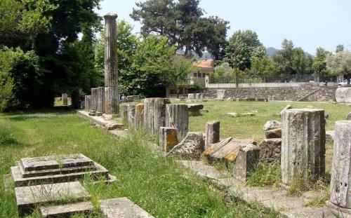 Yacimientos arqueológicos de Tasos, mar Egeo
