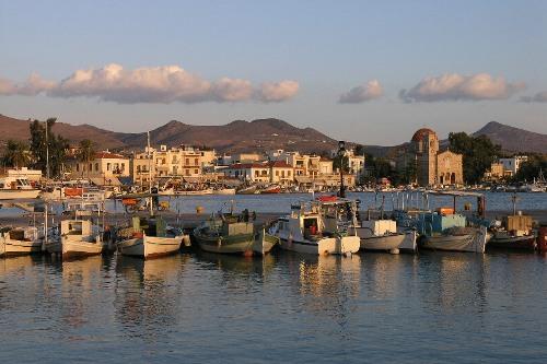 El puerto de Egina, golfo Saronico