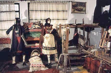 Sala del Museo Folklórico de Meligi, Epiro