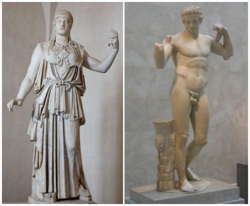 Escultura clasicas griega