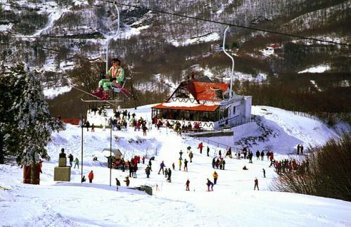 estacion de esqui de Pelion en Tesalia