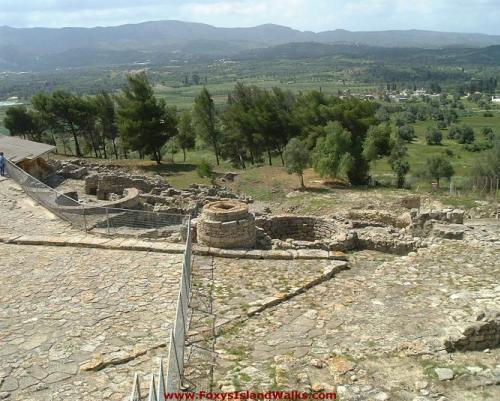 Ruinas de Festos, en Creta