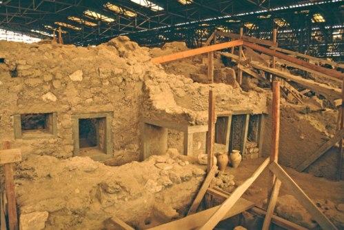Museo de la Prehistoria en Santorini