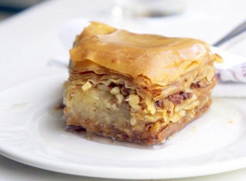 Baklava, gastronomia griega, recetas de Grecia