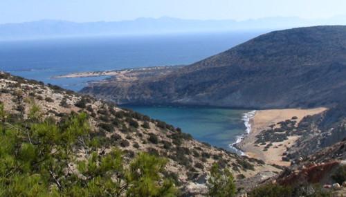 Gavdos, isla satelital al sur de Creta