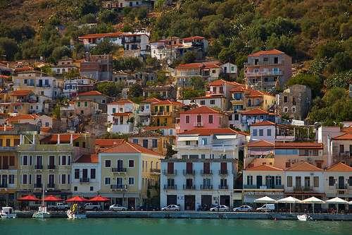 Gition, breve paseo por el Peloponeso