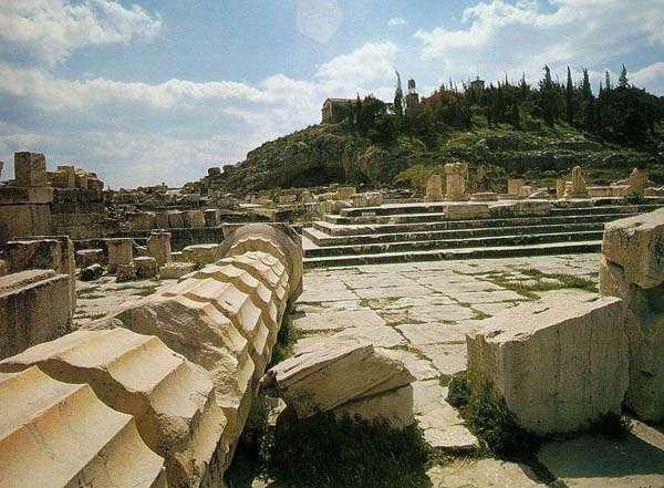 Eleusis, restos arqueológicos, Atenas