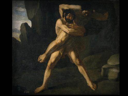 Heracles y Anteo