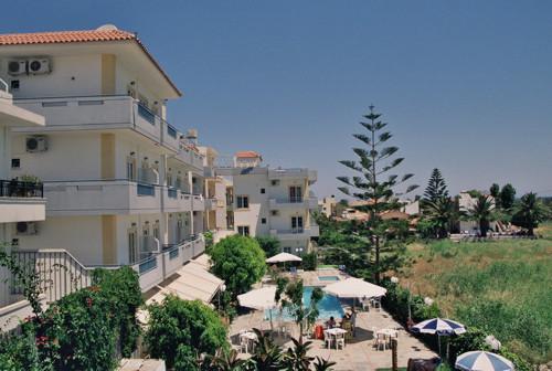 Hotel Marirena, en la turística Amoudara, Creta