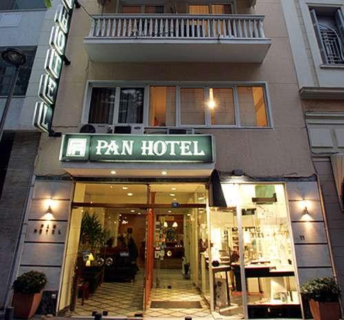 Hotel Pan, un hotel urbano en el centro de Atenas