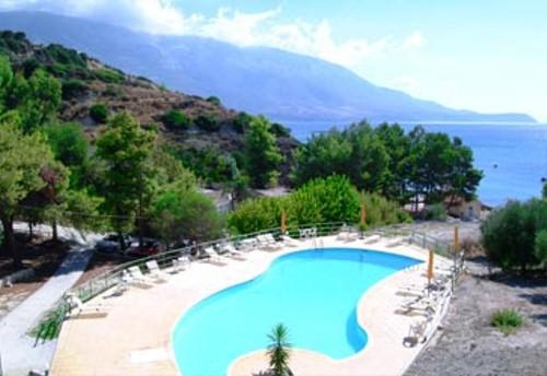 Panas, hotel de playa en Spartia