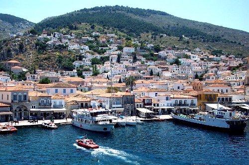 Por las aguas del Saronico