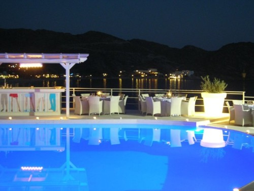 Hotel Ios Palace, en la Isla de Ios