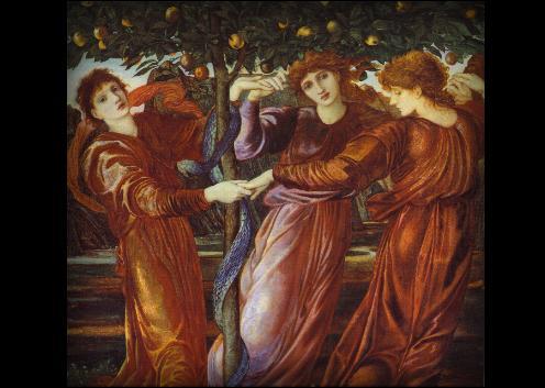el mitico jardin de las hesperides