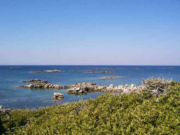 Costa islas estrófadas, strofades, Jónicas